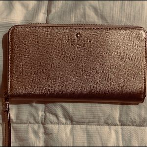 Rose gold Kate Spade wallet/wrislet